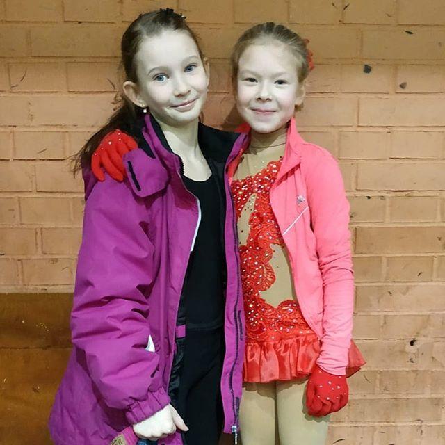 Спорт объединяет! Две подружки встретились на соревнованиях! Болели друг за друга и, что ценно, искренне переживали!